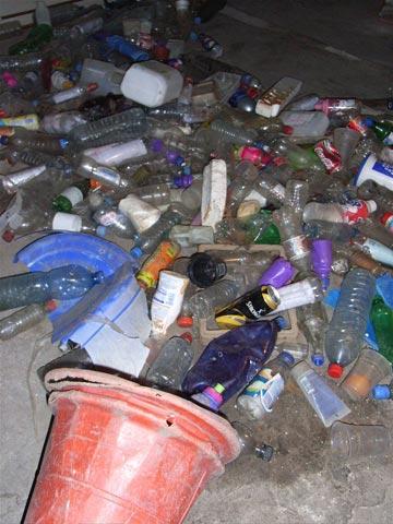 River of litter