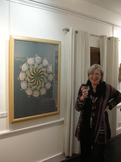 Karin at the Hastings Art Forum